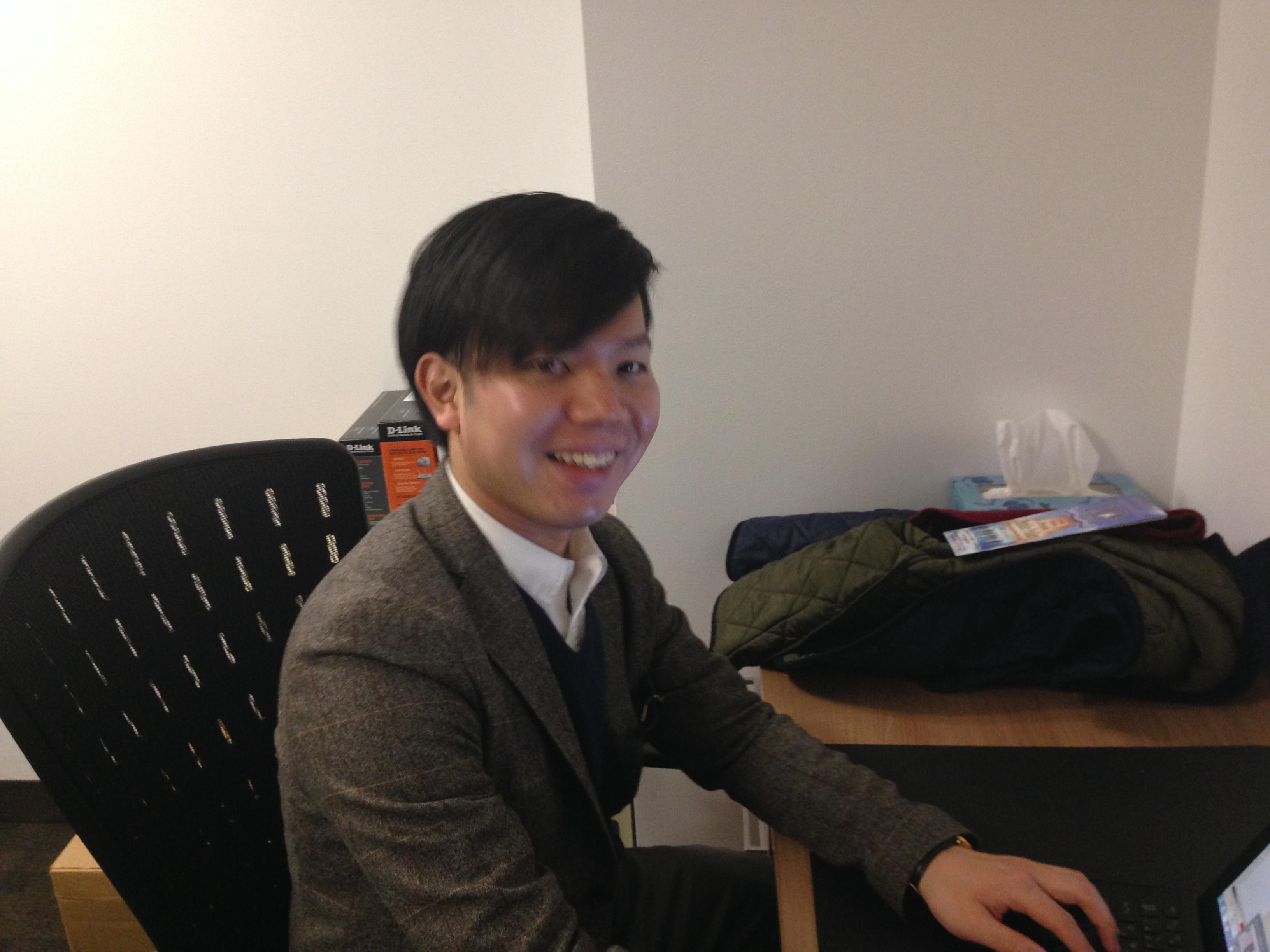 Hiroto Sawada, Graduate Student from Keio University, Japan on internship at Center for Media & Peace Initiatives