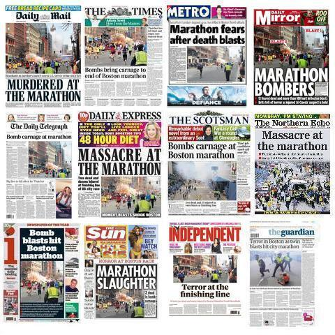 Newspapers Front Pages Around World Front Page on Newspapers