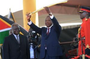 Kenya's fourth president assumes office