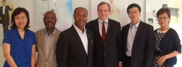 CMPI, NTDTV team up to boost Africa's image
