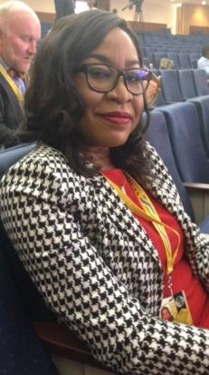Amarachi Ubani, Chief Foreign Affairs Correspondent, Channels Television, Nigeria at the summit