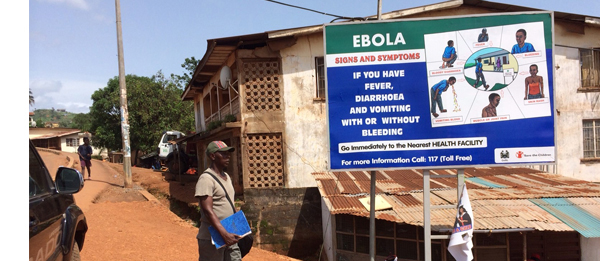 Information campaign against Ebola