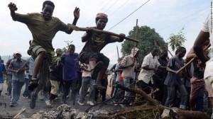 Burundi ousts president in military putsch?