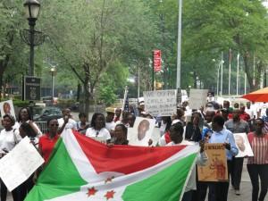 Burundians Lobby International Community, Demand President Step Down