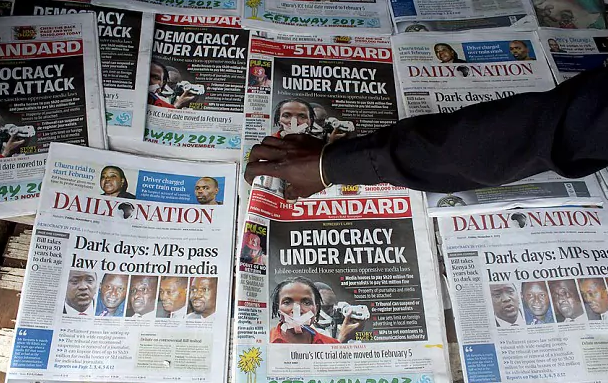 Advertising as weapon against media freedom