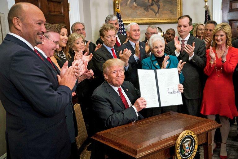 Trump's order on healthcare, matters arising