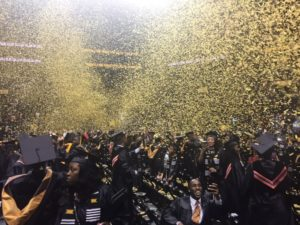 Pass it on, Deval Patrick tells CUNY graduates