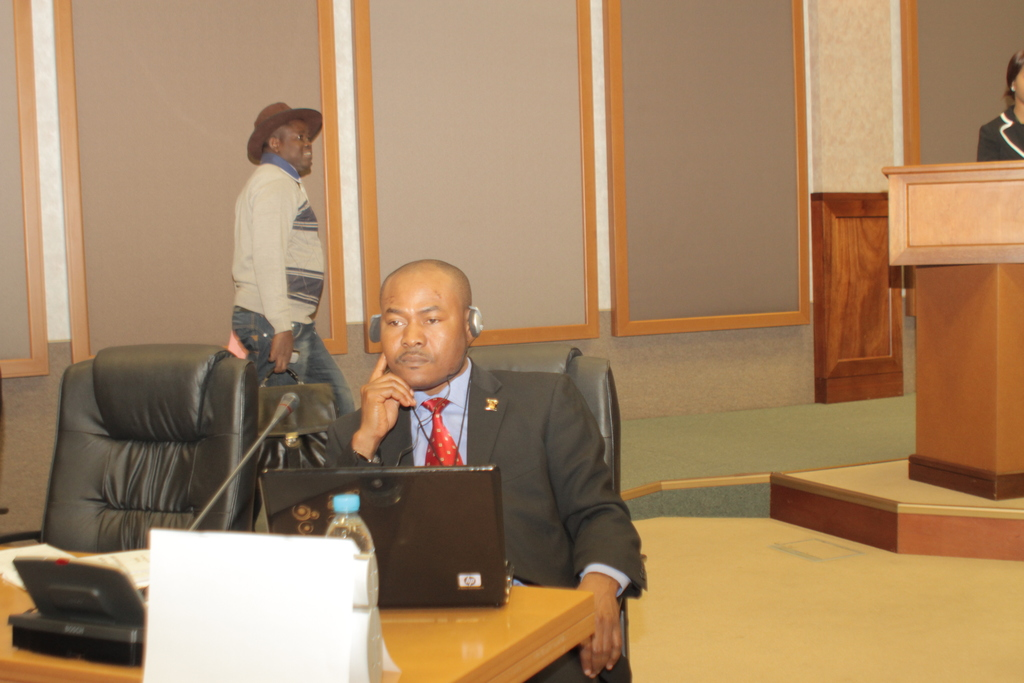 """CMPI President addressed the Pan-African Parliament in Midrand, South Africa on """"Communication Strategies for Peace and Development in Africa"""