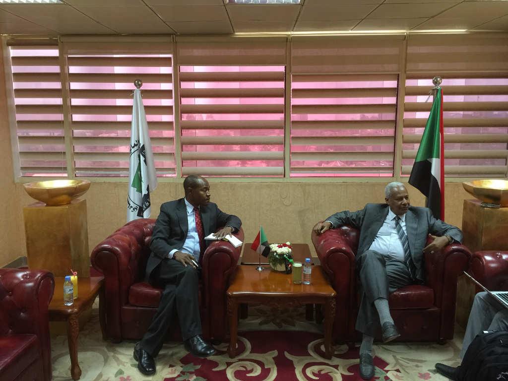 Sudan delegation visit