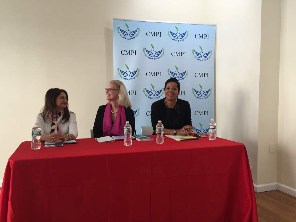 Women and the Media Conference in New York.